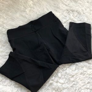 Trek Gear black Capri leggings
